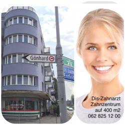 Dis-Zahnarzt, Zahnzentrum auf 400 m2